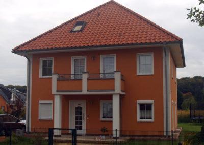 Stadtvilla mit 41° Dach und Balkon