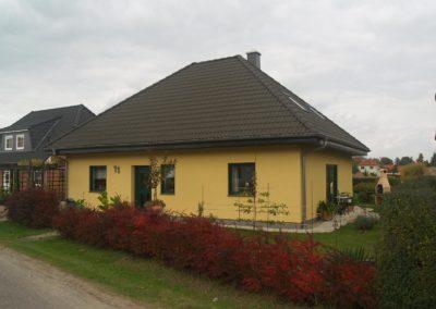Bungalow mit 41° Dach