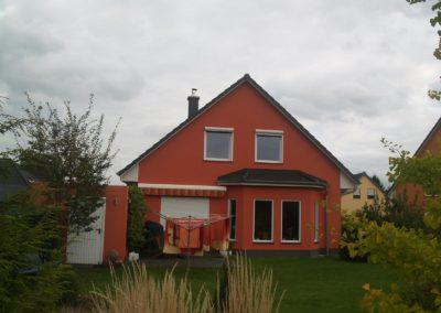 Haus mit Satteldach 41°
